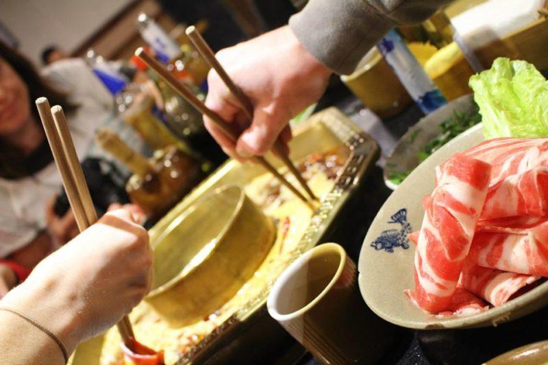 Sichuan hot pot Chengdu China