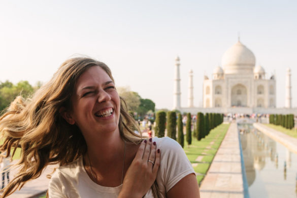 Taj Mahal travel India