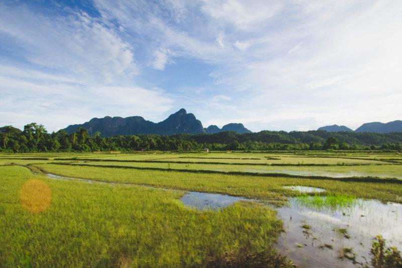 Vang Vieng countryside Laos