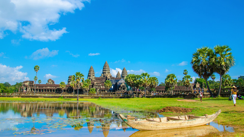 Cambodian food guide Angkor Wat