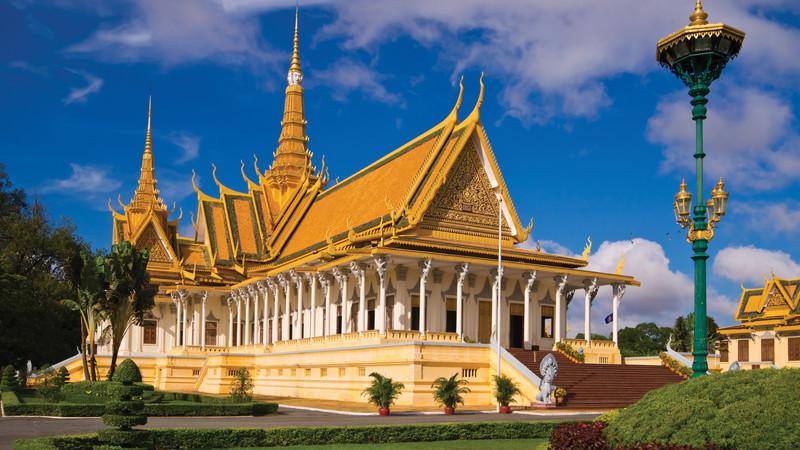 Cambodian food guide Royal Palace Phnom Penh