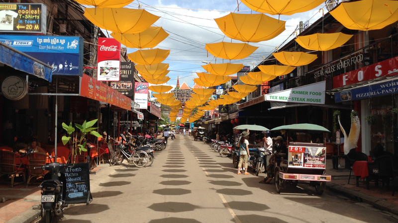 Cambodian food guide Pub Street Siem Reap