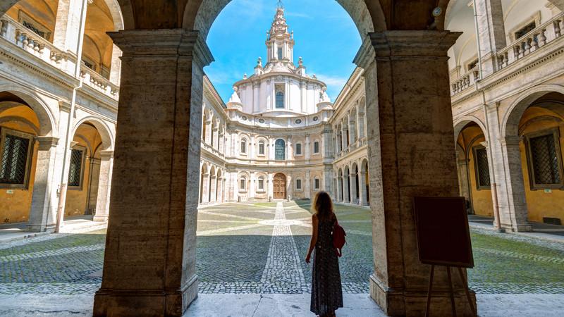 Church of Saint Yves Rome Italy