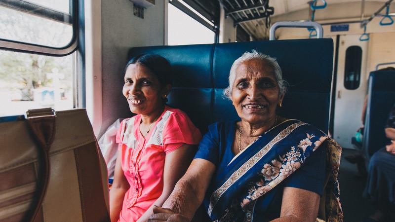 Locals train Sri Lanka