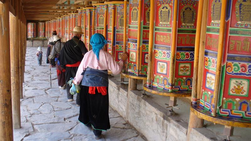 Labrang Monastery, Xiahe China