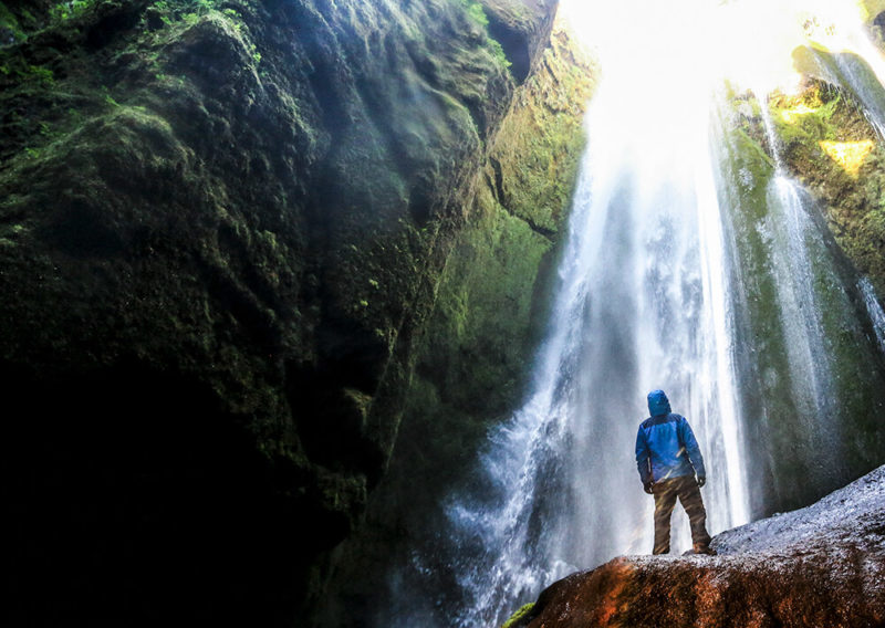 Iceland waterfalls Gljufrabui