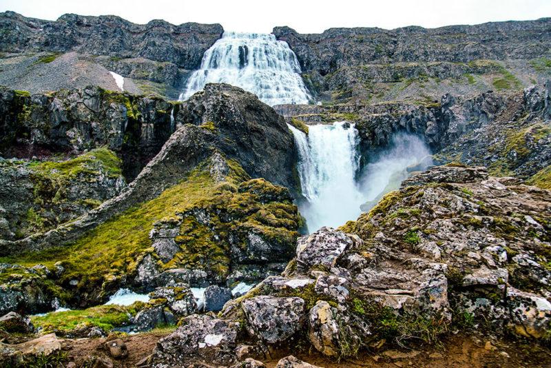 Iceland waterfalls Dynjandi