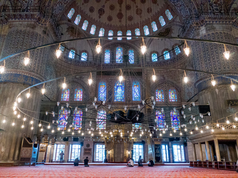 Istanbul Turkey Blue Mosque