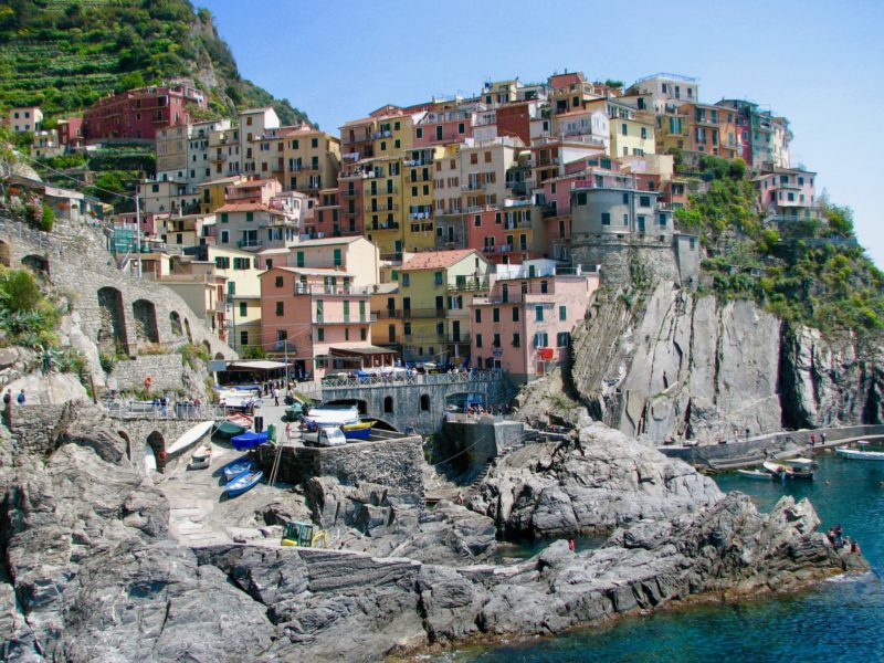 Day hikes Europe Cinque Terre Italy