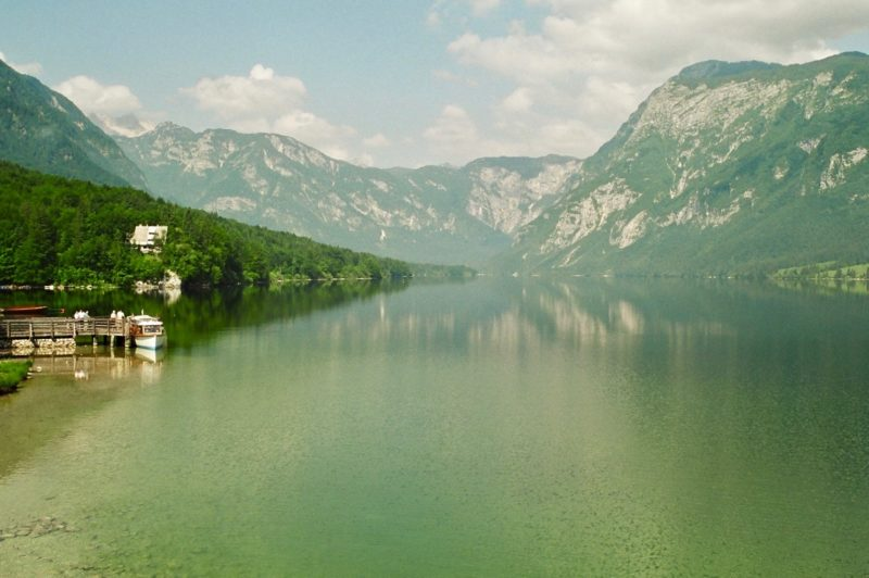 Day hikes Europe Lake Bohinj Slovenia