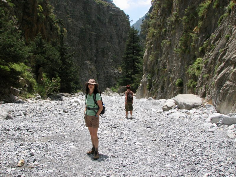 Day hikes Europe Samaria Gorge
