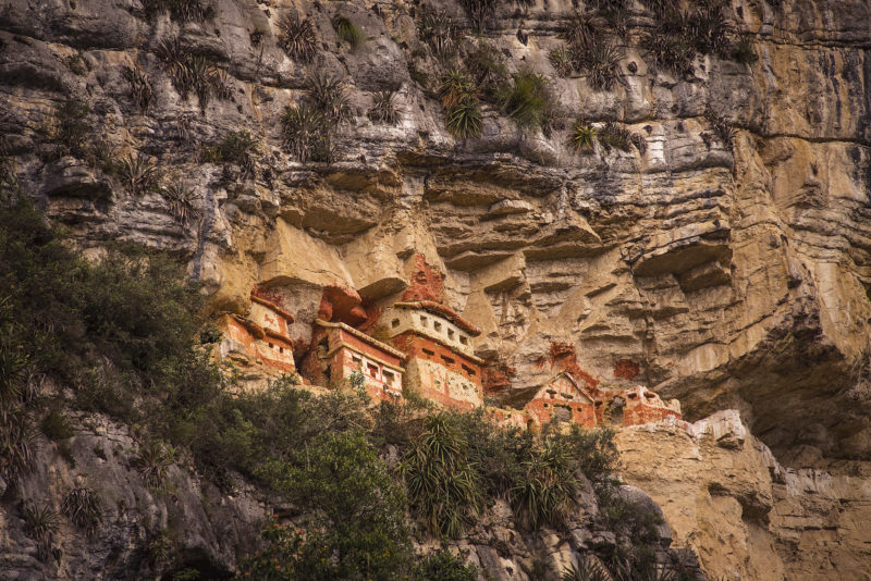 Northern Peru Revash Mausoleums