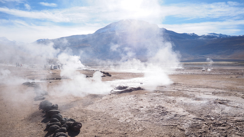 Chile El Tatio geyser field