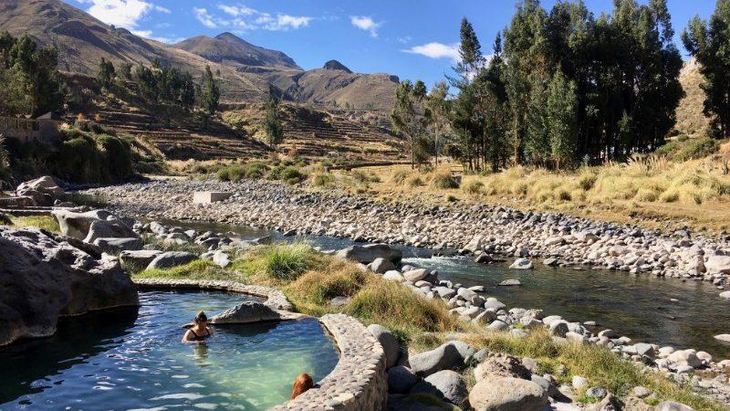 Hot springs at Colca Canyon