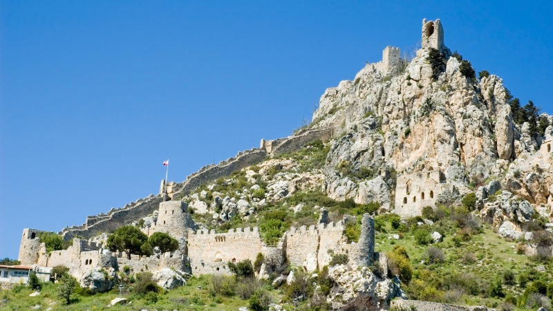 Girne Cyprus castle
