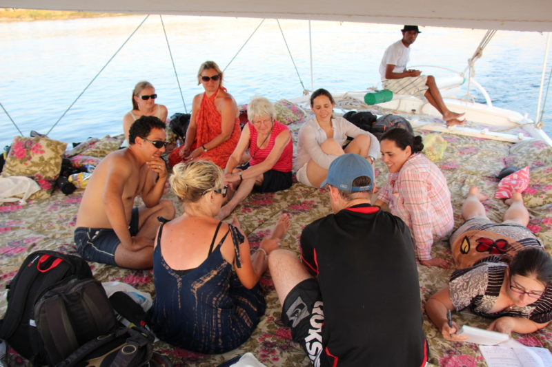 Felucca group tour Middle East