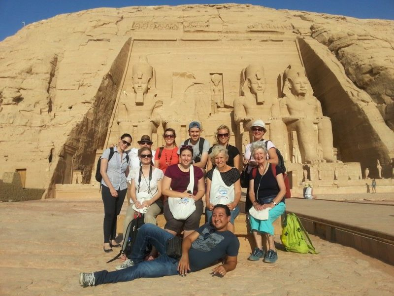 Abu Simbel Egypt group tour Middle East