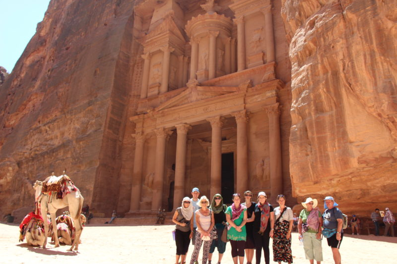 Petra Jordan group tour Middle East