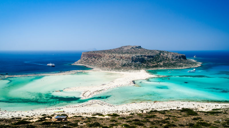 Best beaches in Greece Balos Beach Crete