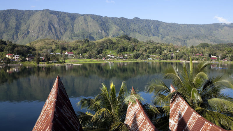 Lake Toba Sumatra Indonesia Southeast Asia