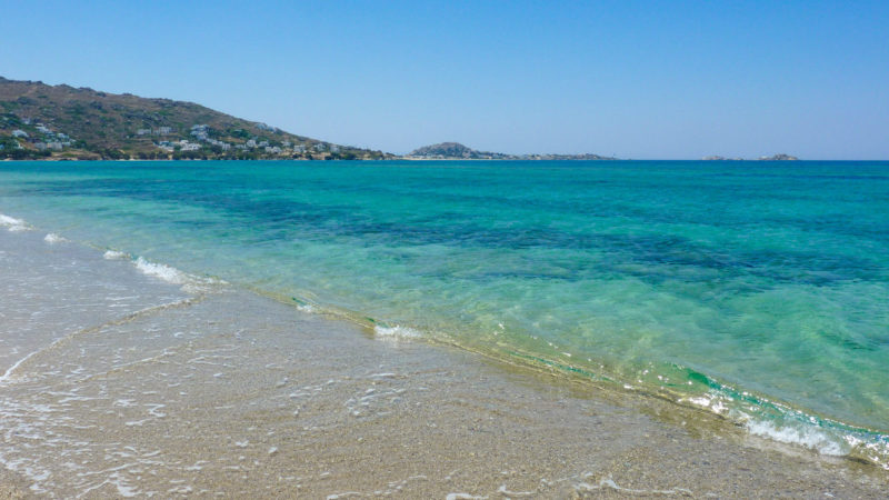 Best beaches in Greece Plaka Beach Naxos