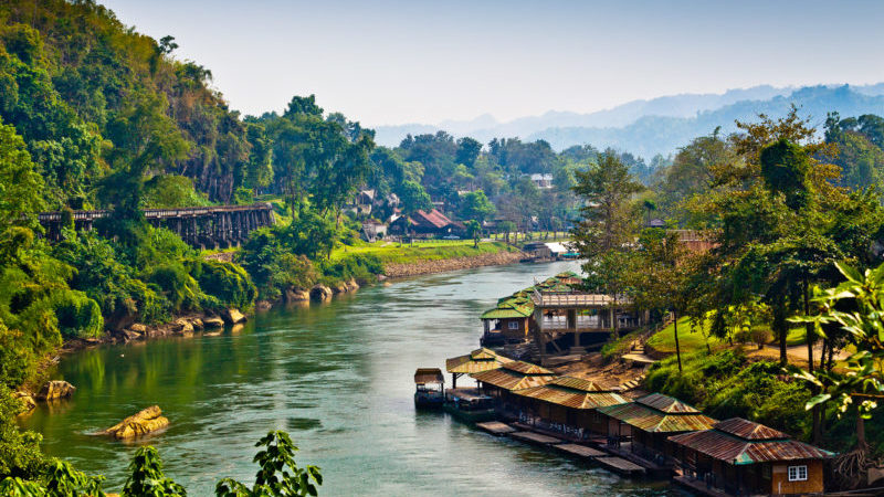 Kanchanaburi Thailand Southeast Asia