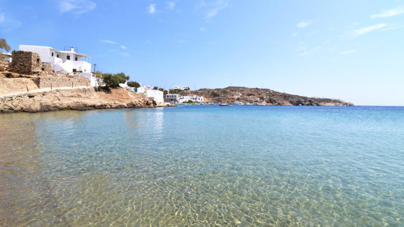 Best beaches in Greece Faros Beach Sifnos
