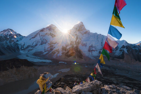 Nepal Everest - Kala Patthar summit