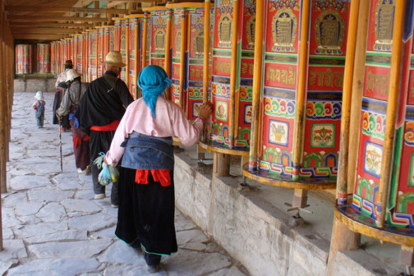 Labrang Monastery Tibet