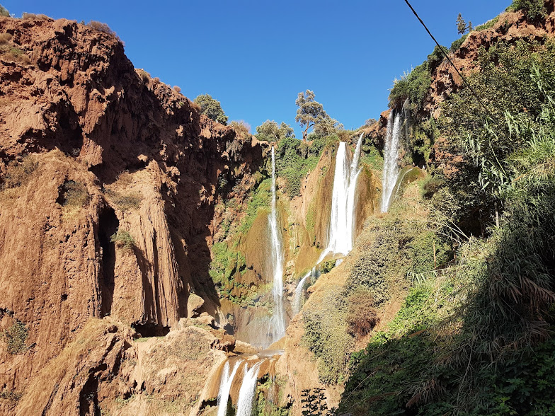 Morocco Atlas Mountains guide Ouzoud waterfall