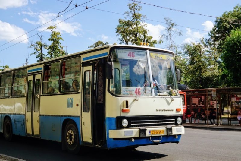 Moldova travel trolley bus