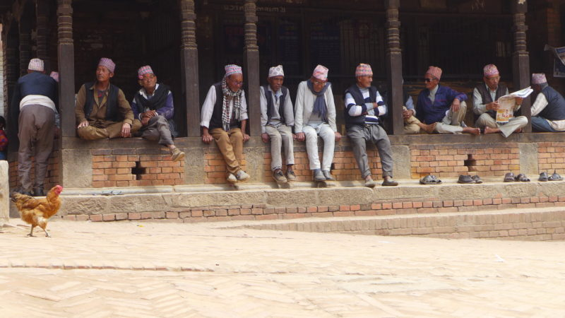 Nepal men traditional