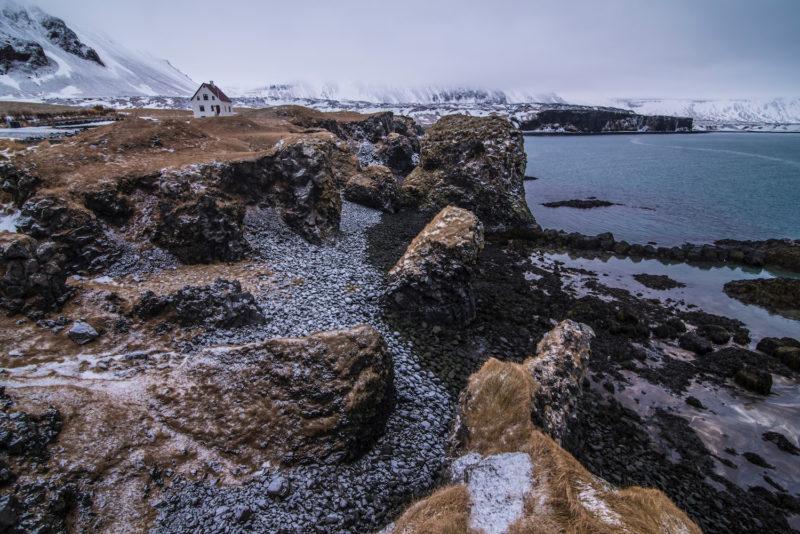 Arnarstapi Iceland winter