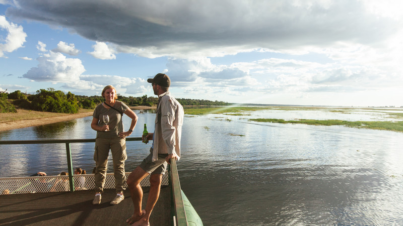 Safari in Botswana tour Chobe River