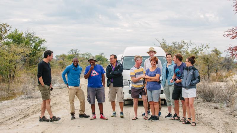 Safari in Botswana tour Maun