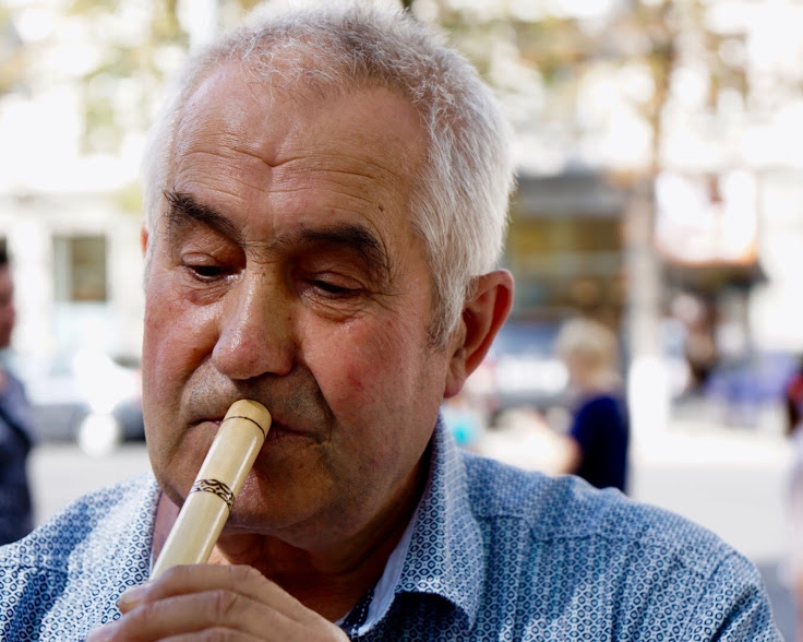 Moldova travel kaval flute
