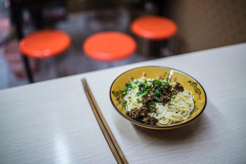 Chengdu China noodles
