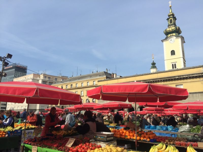 Dolac Market Zagreb guide Croatia