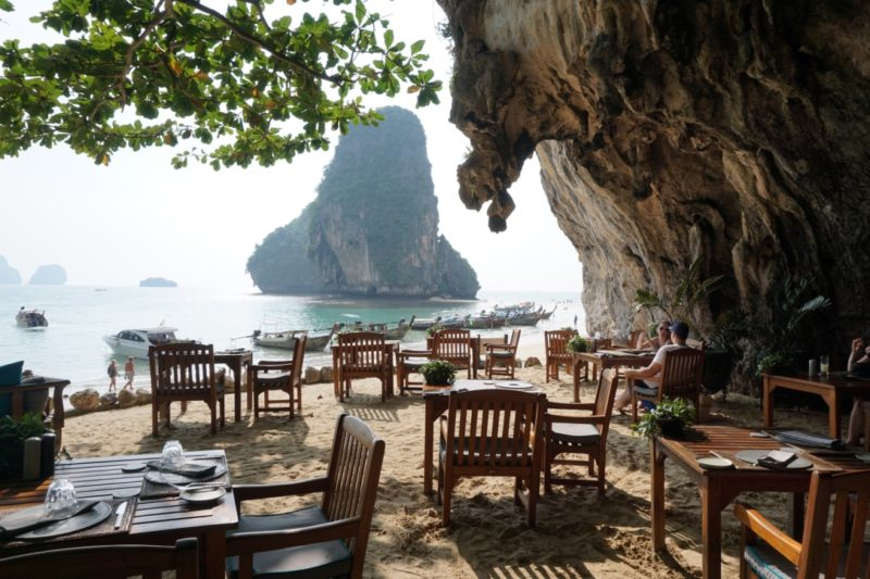 Best food in Thailand Krabi Grotto