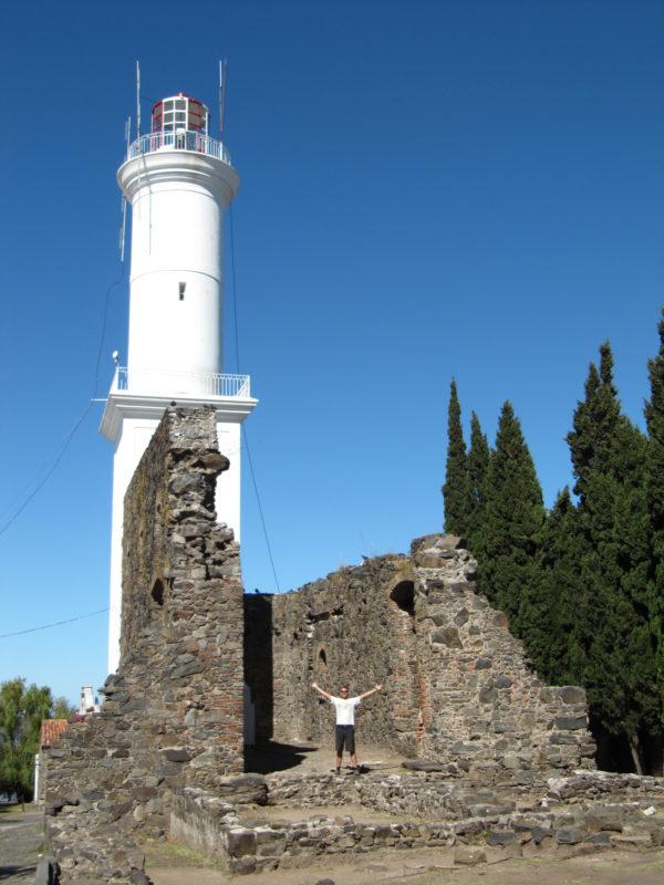 Colonia Uruguay lighthouse
