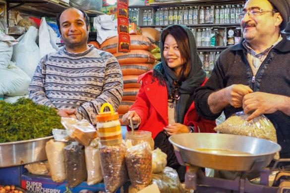 Iran street food