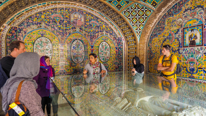 Tehran Golestan Palace Iran