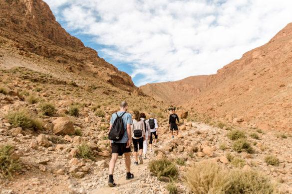 Atlas Mountains guide Morocco Todra hike