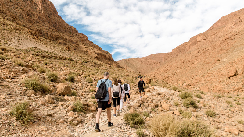 Atlas Mountains guide Morocco Todra hike