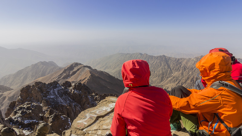 Atlas Mountains guide Morocco Toubkal hike