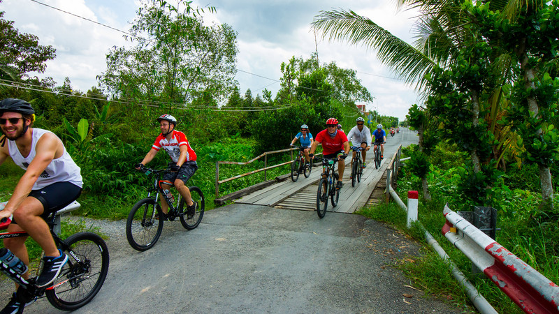 Southern Thailand cycling