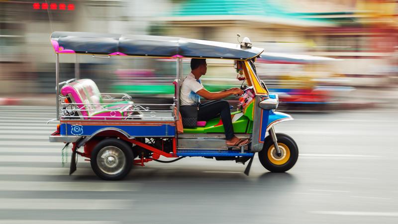 Tuk tuk Southern Thailand