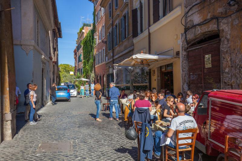 Trastevere Rome guide restaurant