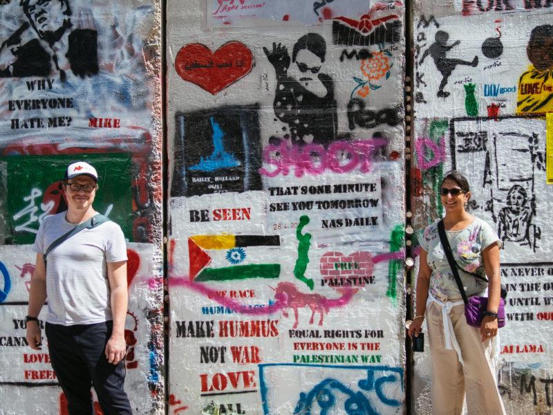Israel Bethlehem graffiti