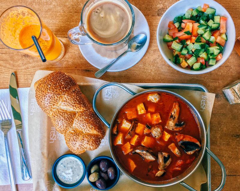 Israel Tel Aviv vegan shakshuka